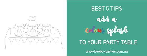 Colored Coloured Party Food Blog Post. Bee Box Parties has you covered at every step of the party process; our handy Best 5 Blogs are a welcome source of party inspiration and planning advice. https://beeboxparties.com.au/blogs/news