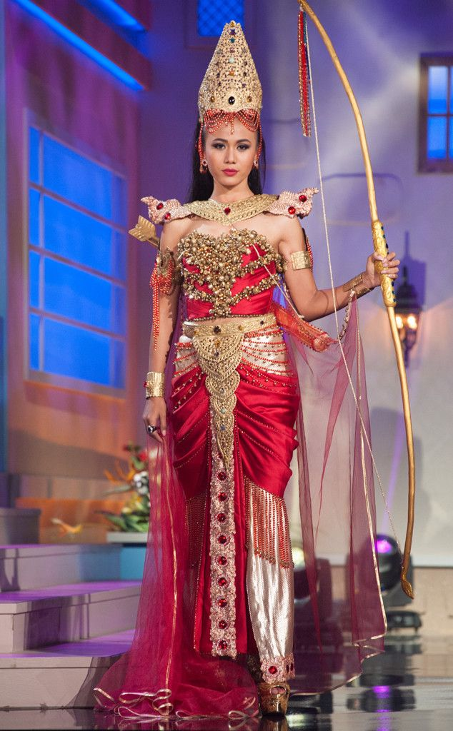 Miss Myanmar from 2014 Miss Universe National Costume Show | E! Online