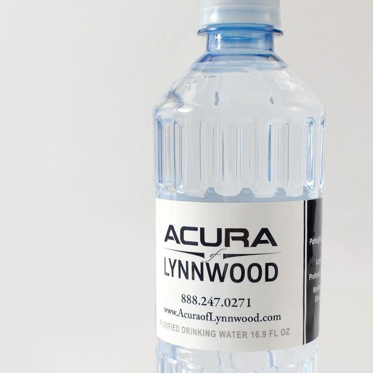 Custom bottled water for car dealerships. #cardealer #promotion #branding