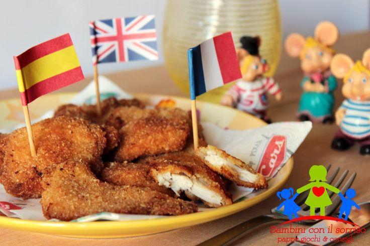 I nuggets di pollo fatti in casa saranno tra i piatti preferiti dei vostri bambini che non vi chiederanno mai più di andare al fastfood.