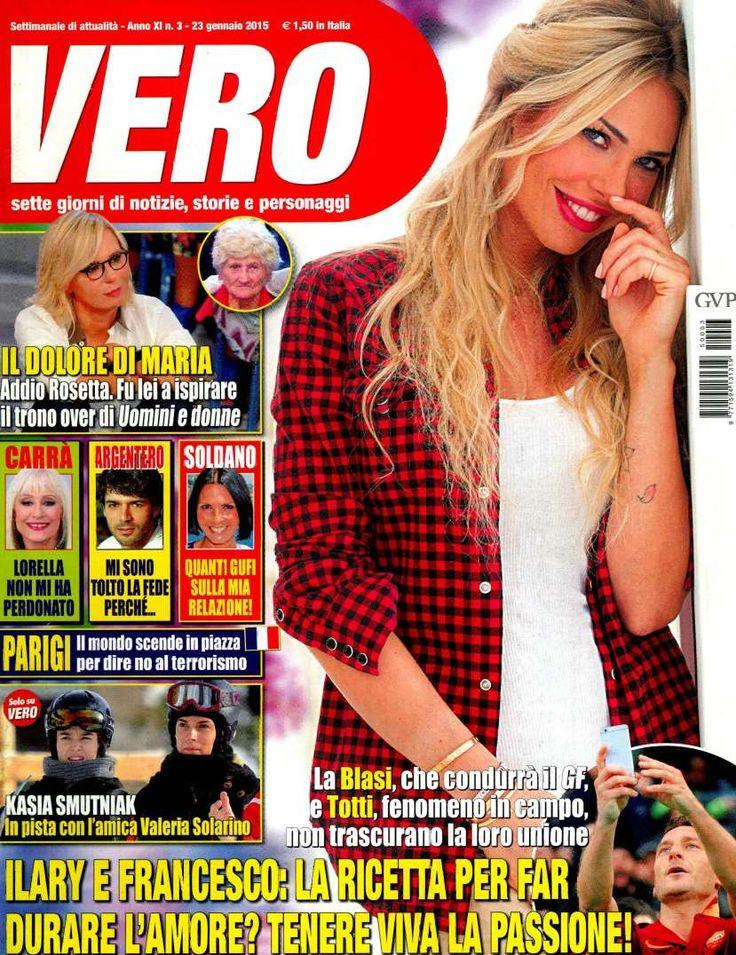 Albano sulla rivista Vero! Scopri l'abbinamento perfetto per te!!