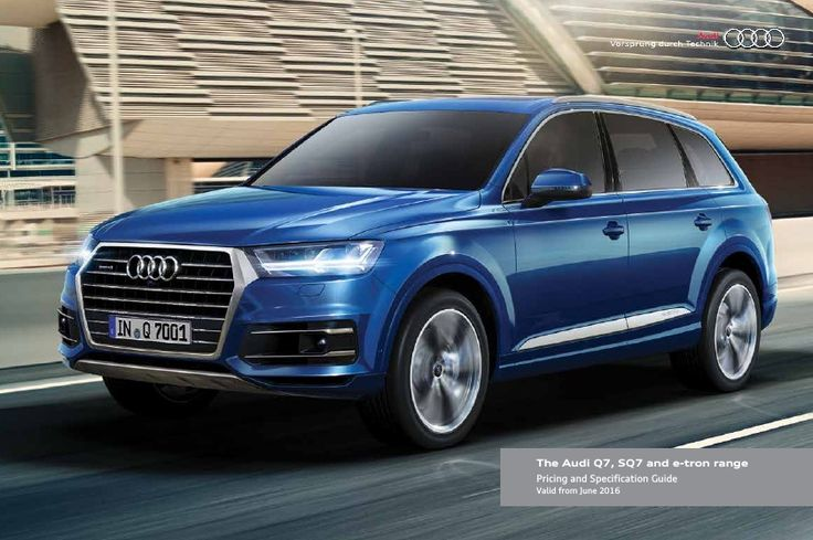 Pricing And Specification Guide Audi Autos Post