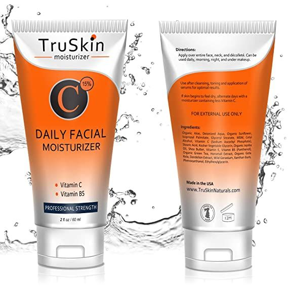 Best Vitamin C Moisturizer Cream For Face Neck Decollete For Anti Aging Wrinkles Age Spots In 2020 Moisturizer Cream Moisturizer Facial Moisturizers