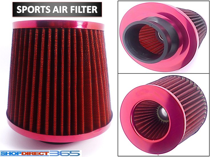 #Universal red #finish car air #filter induction kit high power sports mesh cone ,  View more on the LINK: http://www.zeppy.io/product/gb/2/221885147986/
