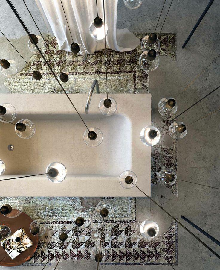 Menegatti Lab #Glass #Concrete #Vasca
