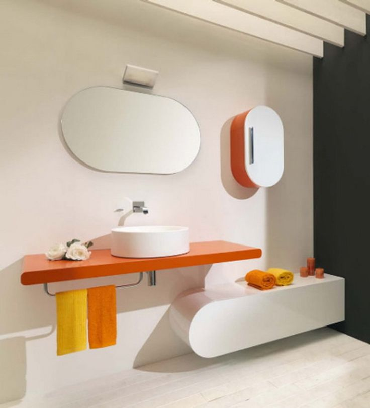 Flux_us Is An Elegant And Stylish Bathroom Furniture Collection Created By Italian Company Lasa Idea The Glamorous Bathroom Series Combines Latest Materia