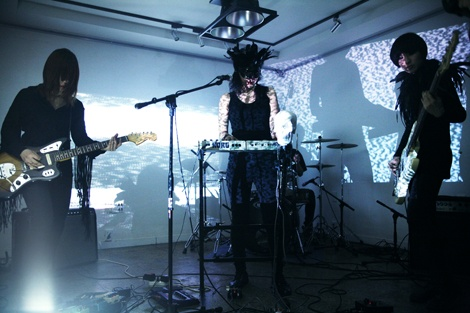Female band Juck Juck Grunzie are awesome, check em out. #seoul #music #indie #underground #korea