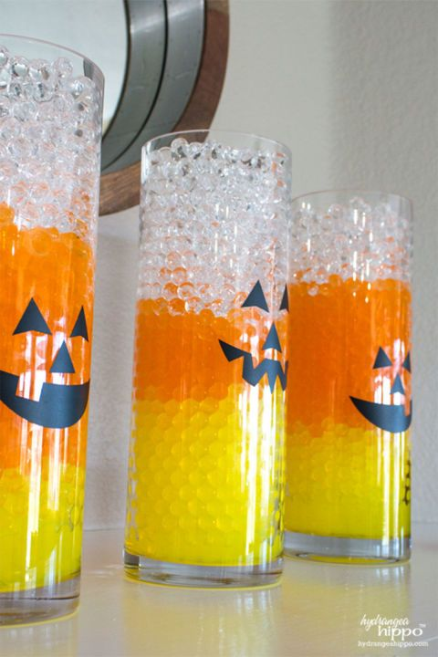 1018 best halloween crafts decorations images on pinterest halloween wreaths halloween ideas and halloween crafts - Candy Corn Halloween Decorations