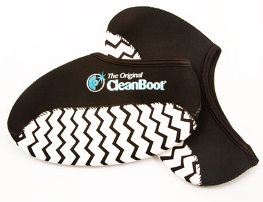 Other names for these Cleanboot shoe covers are work boot covers, overshoes, re-usable boot covers and cleanboots. Available online in Australia at www.cleanboots.com