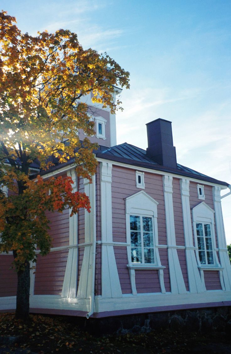 The old fire house in Ekenäs, Raseborg, Finland