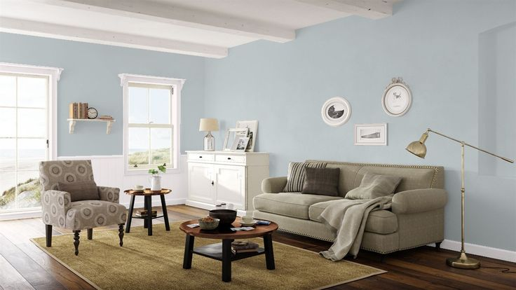 Bm blue springs   Paint colors for living room, Small ...