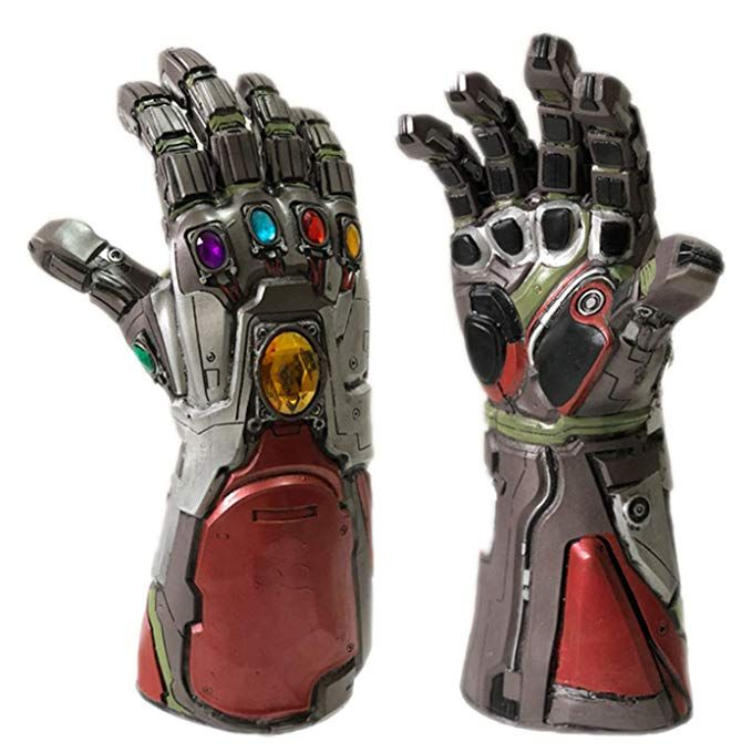 Avengers 4 Endgame  Thanos Latex Gauntlet  Glove Cosplay Prop Toy Thanos Cosplay