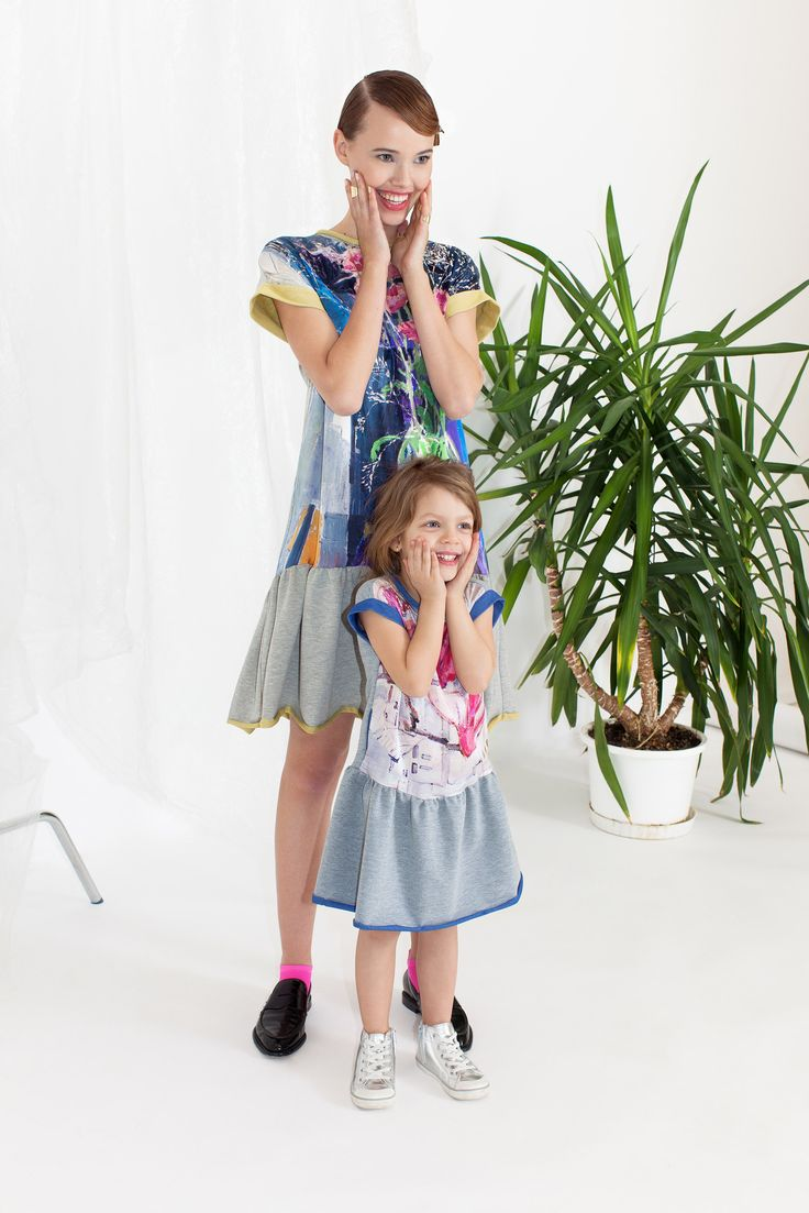 Paper Spring Dress and Mini Me Paper Magnolia Dress | ARGO
