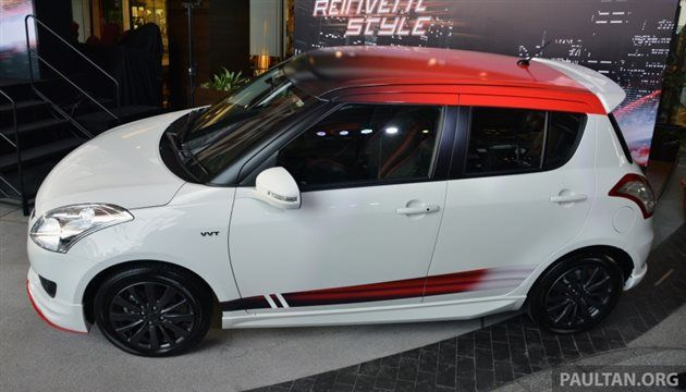 Suzuki Swift RS launched in Malaysia for 79,388 RM - CarWale News ...
