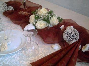 Tischdekoration hochzeit creme bordeaux 2 deko ideen - Tischdekoration hochzeit ideen ...