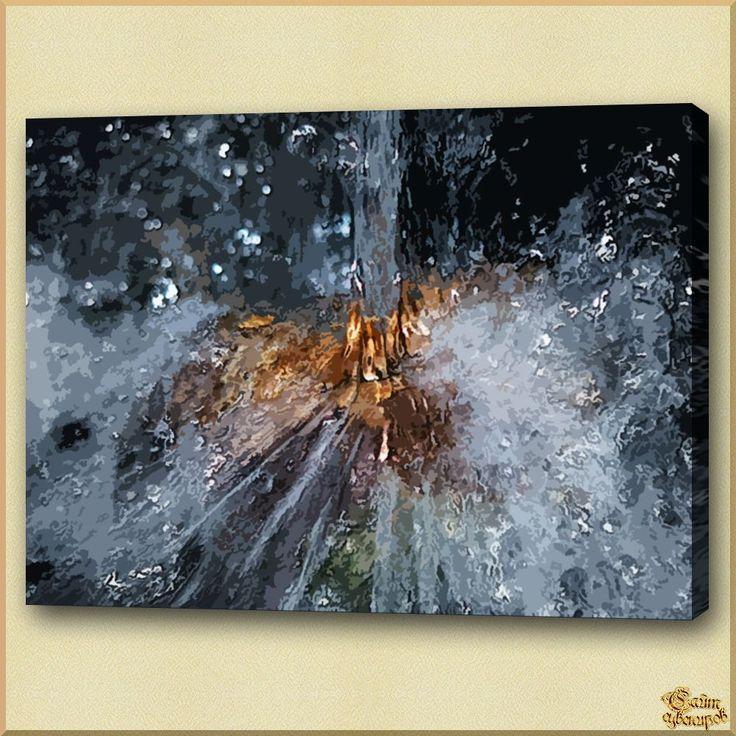 Abstract - 394 Абстракция, картины, картина маслом, сувенир, подарки