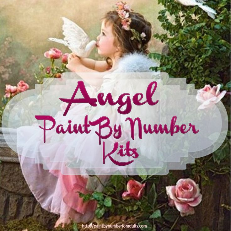 These #Angel #PaintByNumberKits with beautiful #angels and #AngelArtwork make for an amazing way to enjoy your #hobby of #painting. http://paintbynumberforadults.com/angel-paint-by-number-kits/