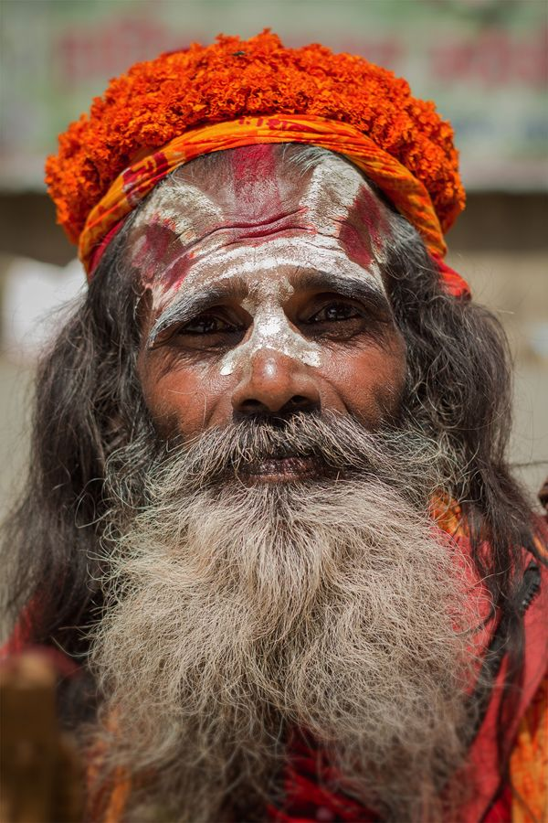 Sadhu, Nepal. Street Photography : People of Kathmandu  by Àlex Reig, via Behance © Àlex Reig 2014 #streetphotography #Sadhu #Nepal