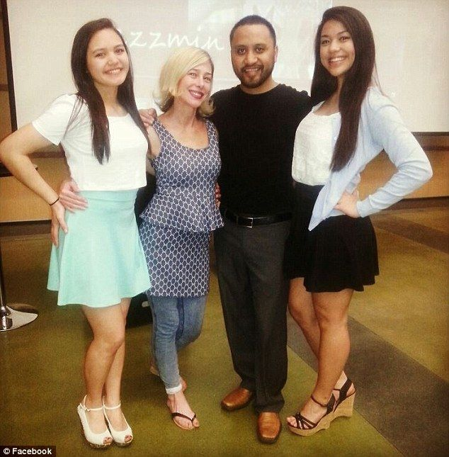 Modern family: Mary Kay Letourneau and Vili Fualaau's 17-year-old daughter, Audrey (right), was born while her mother was out on probation. Her 16-year-old sister, Georgia (left), was born behind bars