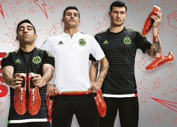 Mexico 2015/16 Home and Away Jerseys