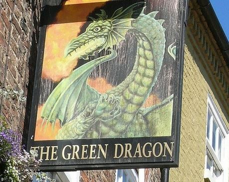 The Green Dragon, Bedale, North Yorkshire, The Yorkshire Dales, England. Pub. Inn. Holiday. Travel. #AroundAboutBritain. Day Out. Explore UK. Family Holiday. Break. Relax. Adventure.
