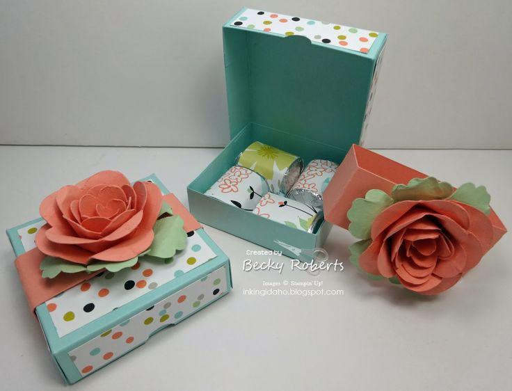 Sweet Sorbet Mini Pizza Box