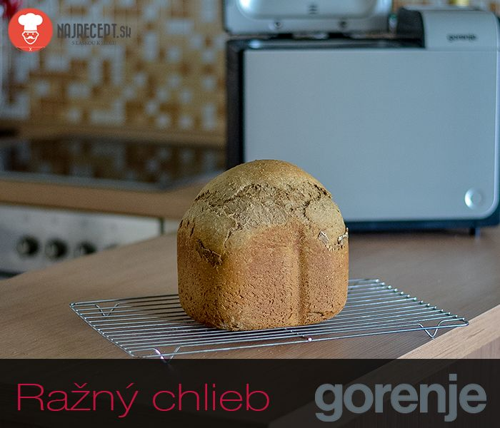 VideoRecept | Ražný chlieb - NajRecept.sk