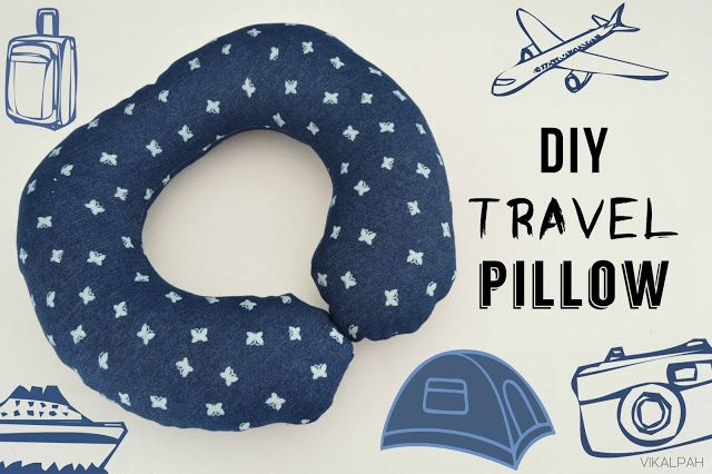 Vikalpah: DIY Travel Pillow (DIY Pattern included)