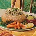 Baked Spinach Dip Loaf Recipe