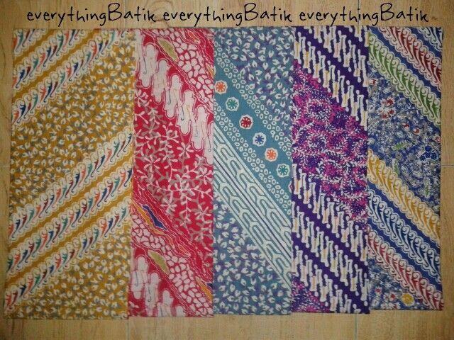 Batik Pekalongan, Indonesia