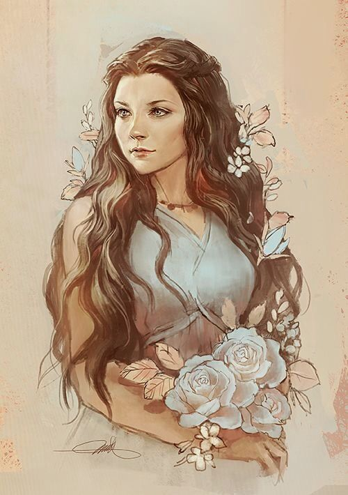 Queen Margaery | Game of Thrones fanart by rafegas