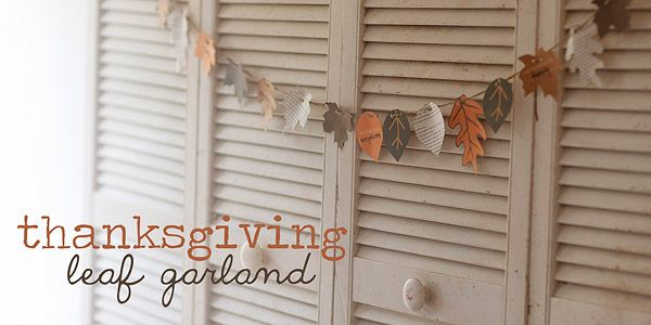fall garland: Thanksgiving Garland, Thanksgiving Leaf, Leaf Garland, Fall Garland, Thanksgiving Idea, Fall Crafts, Thanksgiving Fall, Paper Leaves