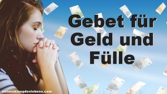 Gebet für Geld und fulle – Es ist ein universelle…