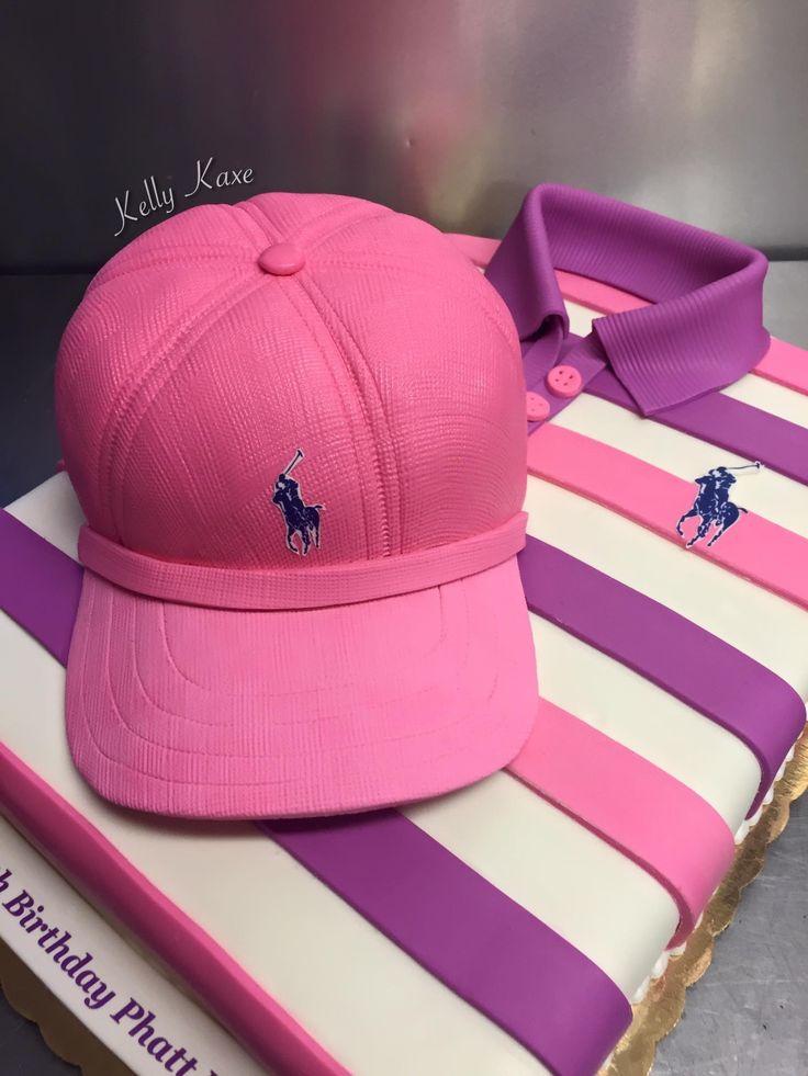 By kelly kaxe of louisiana cute cakes baseball hats