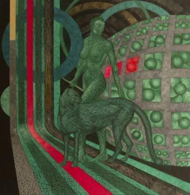 """Saatchi Art Artist Haydar Ekinek; Painting, """"Evren (Universe)"""" #art"""