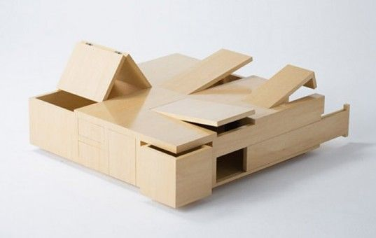 Coffee Table with Storage http://inhabitat.com/nyc/10-transforming-furniture-designs-perfect-for-tiny-nyc-apartments/transforming-furniture-desi/?extend=1