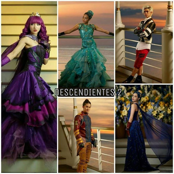 Descendants 2 Cotillion Outfits