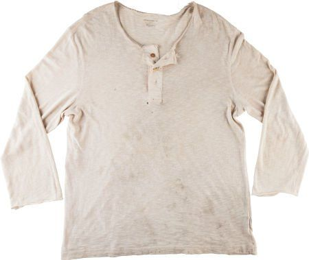 "89278: A Henley Shirt from ""Rambo"" (aka ""Rambo 4""). Lio : Lot 89278"