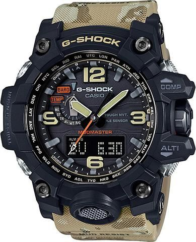 Casio Mens G-Shock Master of G Mudmaster Watch (Model No. GWG-1000DC-1A5) ) #gshock  #mudmaster