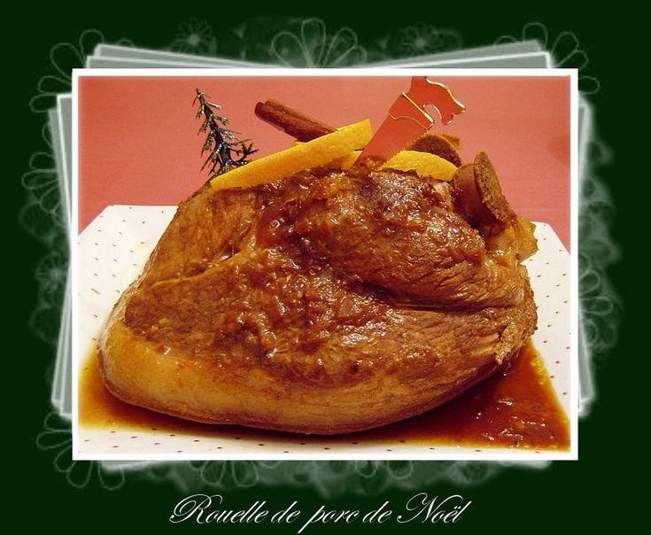 Rouelle de porc de Noël, une explosion de parfums
