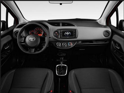 toyota yaris interior parts