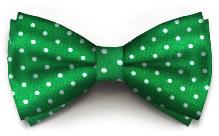 Verde Cu Buline Albe Saten