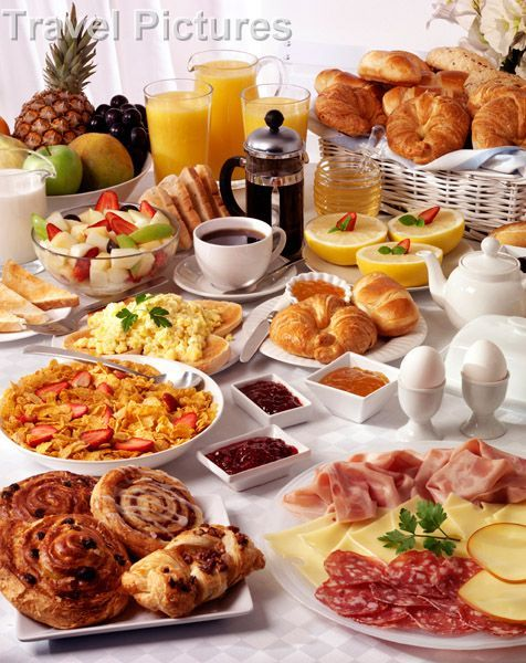 ideas for a breakfast buffet search food