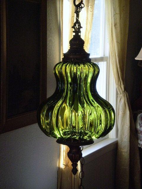 Vintage lamp  we had this lamp