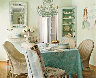 Shabby Chic decoration colors, furniture, accessories 1