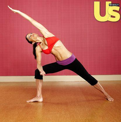 Extended Side Angle and my favorite Bravolebrity.: Famousyoga Yoga, Celebrityyoga Famousyoga, Simple Yoga, Bethenni Frankel, 15 Minute Yoga, Celebrity Yoga, Yoga Workout, Om Yogaeveryday, Quick Yoga