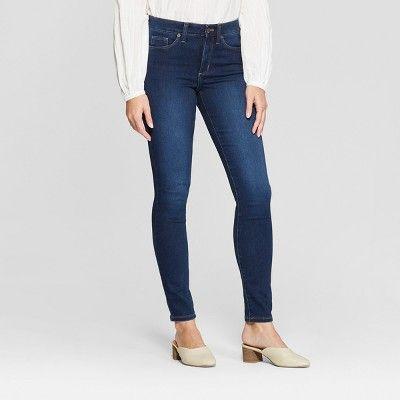 a65abf21833 Women's High-Rise Skinny Jeans - Universal Thread™ Dark Wash : Target