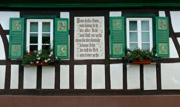 Fachwerkhaus in Billigheim/Ingenheim   Flickr - Photo Sharing!