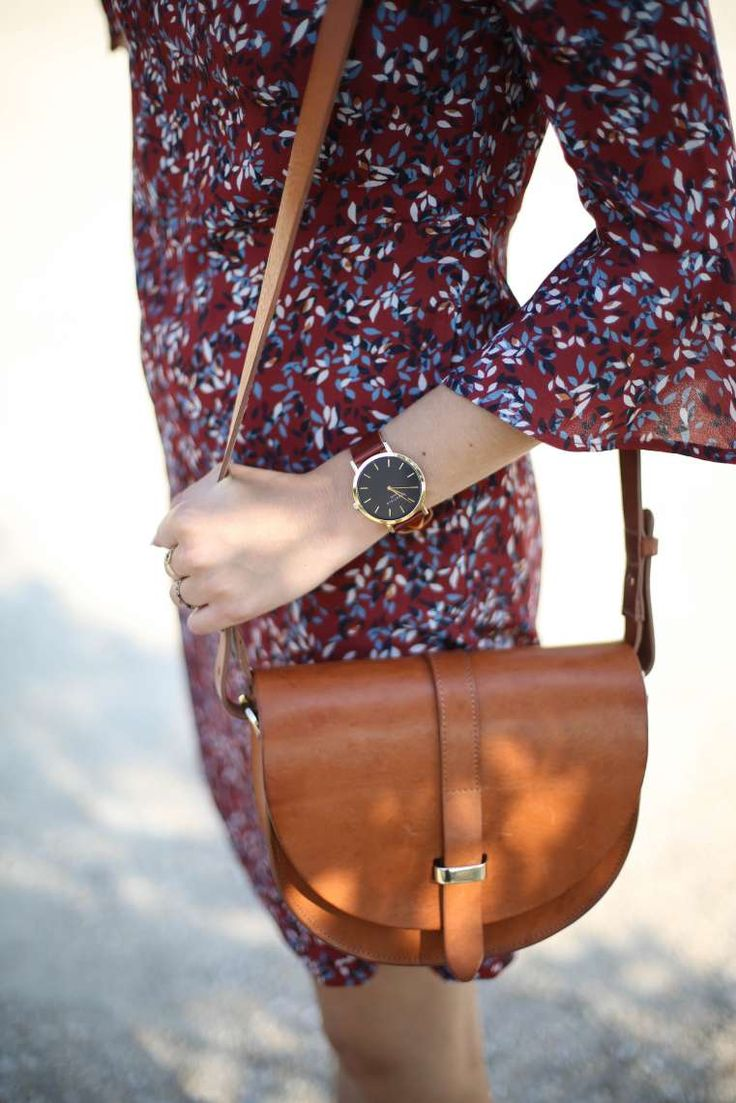 look automne robe mademoiselle r sac sezane claude the brunette blog mode…