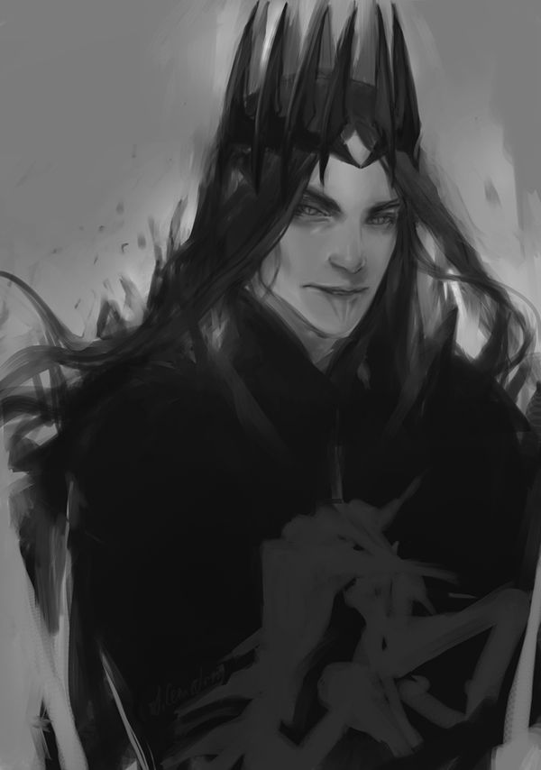 Melkor by anastasiyacemetery on DeviantArt